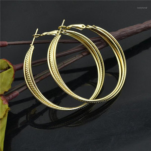 Hoop Earrings for women Big circle Fashion Jewelry Accessories Wholesale 2021 Youth students trendy personality Ladies earings1