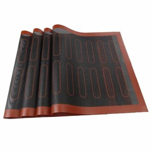 Oven Barbecue Baking Pad High Temperature Resistance Ventilation Silicone Cookie Mat Dinner Party Grill Mats Kitchen Supplies 17rd2 F2