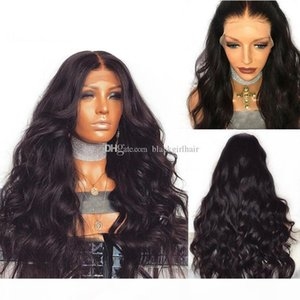 Best quality peruvian glueless silk top full lace wig 100% human hair body wave silk base lace wigs with natural baby hair