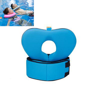 Neck Ring Belt Set Swimming Float Collar Children Adult Safty No Need Pump Beach Pool Accessary Water Safety Product#40 Z1202