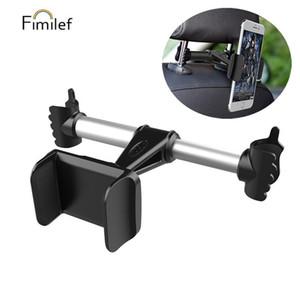 FIMILEF Car Backseat Phone Holder For Lazy Holder Mobile Phone Back Seat Car Stand Tablet PC Headrest