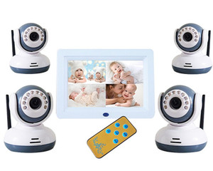 Spot with night vision camera 2.4Ghz wireless digital 7 inch baby monitor