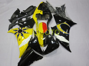 Bodywork Injection molding motorcycle Fairings For yellow black white YAMAHA YZFR1 YZF R1 12 13 14 2013 2014 2012 Fairing body kits