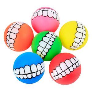 Animaux drôles chien chiot chiot chat dents dents jouet pvc mâcher chiens de son jouent chercher des jouets de grincement fournitures d'animaux de compagnie de pimpy ball dents silicium jouet 187 k2