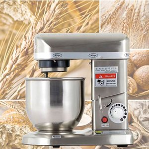 Electric Vertical Food Mixer Whisk Stainless Steel Bowl Knead Cake Bread Dough Mixer Whipping Cream Chef Machine