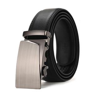 Peikong Herren Gürtel Automatische Schnalle Mode Gürtel Für Männer Business Beliebte Männliche Marke Schwarz Gürtel Luxus dünn Muster Gürtel W0107