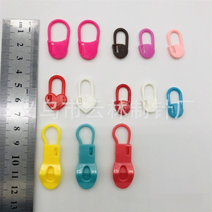 Handmade DIY Clasp Plastic Boxpacked Pins Sweater Weave Security Tool Mark Buckle Mini Colourful Materials Home Student Womens New 3 5yl M2