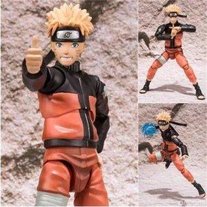 15cm Naruto Shippuden Uzumaki Naruto Action Figures Anime PVC brinquedos Collection Model toys with Retail box Free shipping Y200421