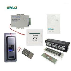 Contrôle d'accès complet Kits de boîtier en métal autonome Verrouillage de la porte Biométrie Digital Access Control Système d'accès à la maison Bâtiment Office1