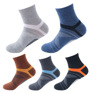 USA 100% Cotton Fashion Basketball Athletic Mens Socks Winter The New Thicken Student Ankle Run Socks Wholesale