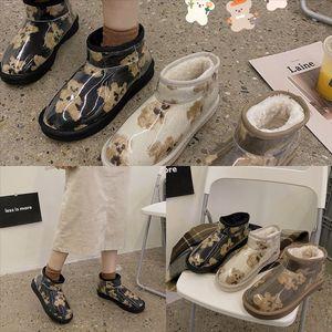 Clbnq Boot Quality Wgg Mulheres Classic Boots marca Botas de alta neve bota inverno botas de couro alto boot dener womens woman