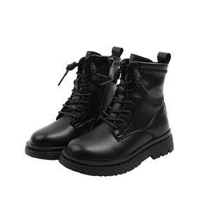 2020 new Winter Boutique kids boots designer kids shoes Genuine Leather Martin boots boys boots boys shoes girls shoes ankle boot B2861
