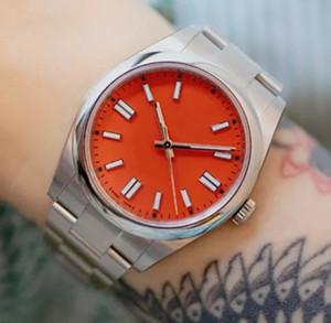 2020 Novo relógio de luxo U1 2813 relógios mecânicos automáticos de negócios 41mm homens homens relógios 36mm senhoras vestido relógio mulheres consideração