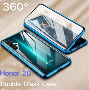 Double Side Glass Phone Case For Huawei Honor Mate 30 20 10 Lite P30 P20 Pro 8X 9X Y9 Prime P Smart Z 2019 Cover