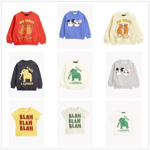 En stock 2020 Primavera y verano Nuevo MR T-Shirt Toddler Girl Tops Niña camisetas C1226