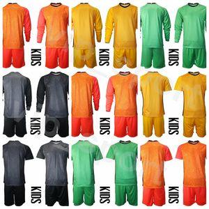 Goleiro EUA Crianças Tim Howard Jovens Esperança Solo Jersey Goalie Set Soccer Bill Hamid 22 Ethan Horvath 24 Ashlyn Harris Camisa de Futebol Kits