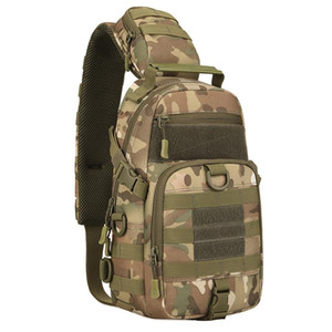 Outdoor Tactical Sling Chest Pack Nylon Windproof Shoulder Bag Men Crossbody Bag Hiking Cycling