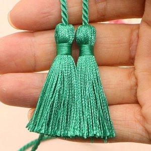 5 unids 54cm Cinta de cuerda de dos cabezas largas borlas de bricolaje artesanía accesorios decoración borde franja casa tela textil tassels colgante h bbypvc