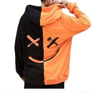 2020 hot sale Unisex Men Women Teen's Smiling Face Fashion Print Hoodie Sweatshirt Jacket Pullover Broadcloth Plus Size