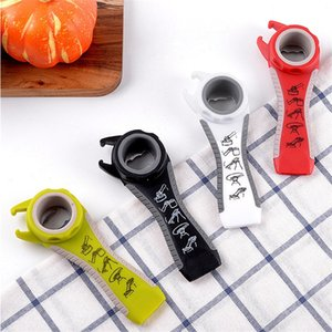 Creative Universal can opener 5 in 1 bottle opener Anti-skid Twist bottle cap implement Multi functional Can beer Can Opener T9I00859
