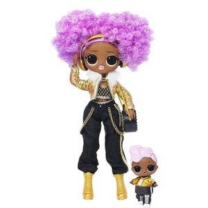 LOL. Winter Disco 24K D.j. Fashion Doll & Sister Girls Toys Y200444