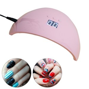 8.5W LED Nail Lamp Sensor Nail Dryers UV Lamp Manicure Quick Dry Nail Dryer Gel Polish For Curing Lamp Equipment DHL Free