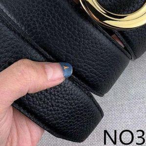 Vendita calda Designer Cinture Donne Cintura di lusso Mens Lettere Fibbia liscia 14 Stili Cintura in vita alta qualità con scatola