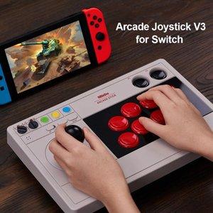 Rocker Game Controller 8bitdo V3 Arcade Controller 3 Mode Fight Stick для переключения