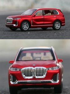 BMW X7 SUV 1:32 model simulation metal alloy toy car child boy