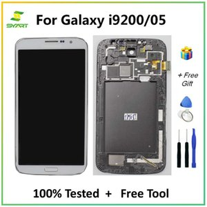 """For Samsung Galaxy Mega i9200 LCD Display Touch Screen Digitizer Assembly Replacement Part 6.3"""" i9205 With tools"""