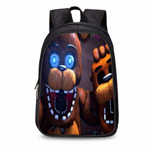 Curel Fancl 17Inch Kids Five Nights At Freddys Backpack Children Schoolbags For Teenagers Boys&Girls School Book Bag Kids 2019 70BQ#
