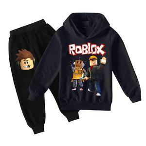 Tik Tok Set per Big Boy Girl Tracksuit Abbigliamento Autunno Inverno Tiktok Kid Felpa con cappuccio + Stampa Pant 2PC Outfit Bambini Sport Sport 12 anni