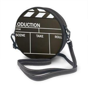 Oln Film Clapper Board Tasche Runde Umhängetasche Kleine Frauen Mode Sommer Messenger Crossbody Taschen