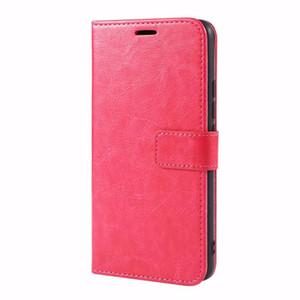 Para OPPO A73 2020 Caso fresco de lujo colorido billetera Classic Flip Cover PU Funda de cuero para OPPO A73 2020