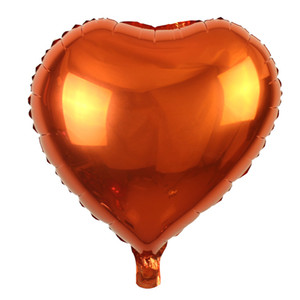 Hota Sale Love Heart Shape 18 Inch Foil Balloon Birthday Wedding New Year Graduation Party Decoration Air Balloons PPD3445