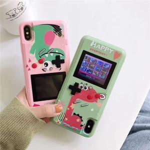 Retro Game Console Case для iPhone 11 Pro Max XR XS 8 Полный цвет Дисплей 3D Чехлы для телефона Классический тетрис Обложка Izeso FY7224