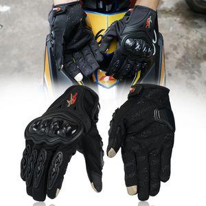 Nuevos guantes de motocicleta verano pantalla táctil transpirable guante luva moto montando deporte equipo de protección motocicleta motocross guante de bicicleta