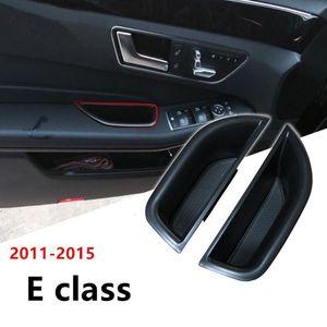 Органайзер автомобиля для E CARSE W212 2010-15 C207 Дверной ручки для хранения контейнера для хранения контейнера Aray Auto Accbstics