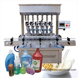 5-1000ml semi automatic pneumatic small bottle liquid oil cream paste sauce filling machine and lotion oil filler price