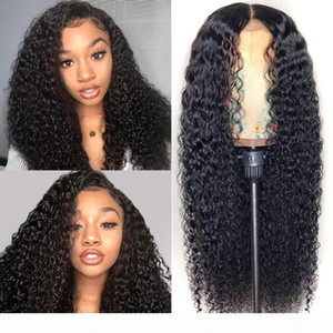 Ishow Brazilian 4*4 Lace Closure Wig Straight Pre-Plucked Human Hair Wigs 150% Density Lace Wig with Baby Hair Indian Peruvian Hair