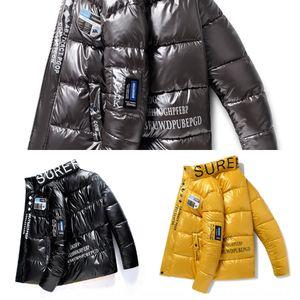 Ivyol Men's Works Cotton-Coat-Cotton-rembourré rembourré nouveau hiver coréen manteau de mode coréenne courte et beau travail coton vêtements vêtements vêtements