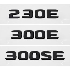 Car Rear Trunk Letters Sticker For Mercedes Benz AMG 230E 300E 300SE W210 W211 Plastic Decal Automobile Label Badge Auto Styling