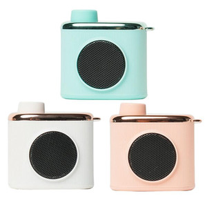Retro Mini Bluetooth Wireless Speaker Super Bass Music Loudspeakers Music Player for Phone for Friend's Gift 3 Color