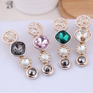 Korean Crystal Hair Clips Barrettes for Women 2020 Fashion Golden Hairgrips Hair Accessories Jewelry Girl Wedding
