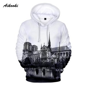 Mens Hooded Notre Dame de Paris Hoodies Men Women Famous Hoody Sweatshirts Forever Notre Dame de Paris Polluvers All-match tops