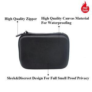Tobacco Bag Set Plastic Smoking Herb Grinder Storage Jar Metal Tin Silicone Smoking Pipe One HitterDugout Rolling Machine Glass Tips YYF4156