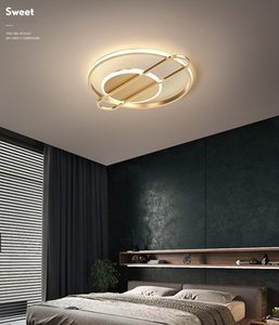 Light  master bedroom lamp ceiling lighting round square room living room simple modern atmosphere creative Nordic lamps RW486