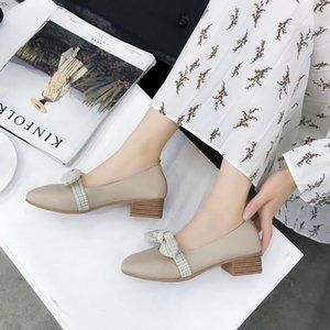 Shallow Mouth Shoes Woman Comfortable And Elegant All-Match Casual Female Sneakers Low Heels Flats Modis Summer New Dress 2020