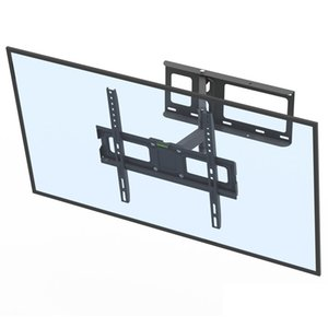 LEADZM 32-60 Inch Single Pendulum Large Base TV Stand Tmdd-102 Bearing 35Kg Vese400*400 Upper and Lower 10-10 Degree TV Wall Mount Bracket
