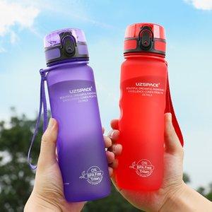 Uzspace Спортивная бутылка с водой Прямой напиток или соломенная Фруктовая бутылка для фруктов.